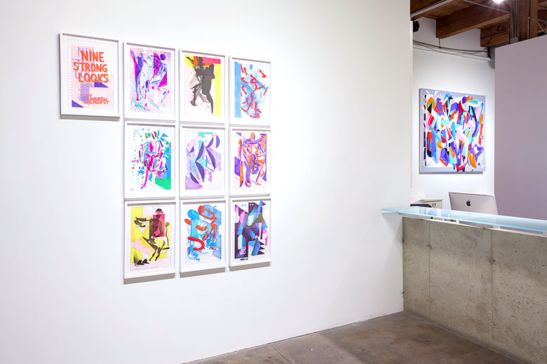andrew holmquist alter ego exhibition view